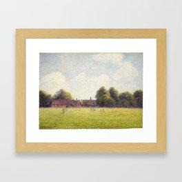 Camille Pissarro Hampton Court Green Framed Art Print