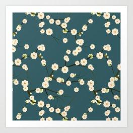 fleuri 4 Art Print