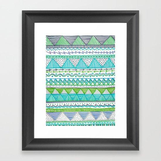Ocean T Framed Art Print