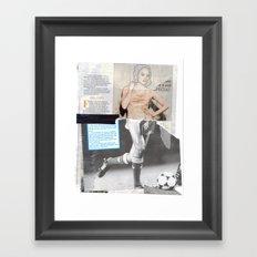 Football Fashion #4 Framed Art Print