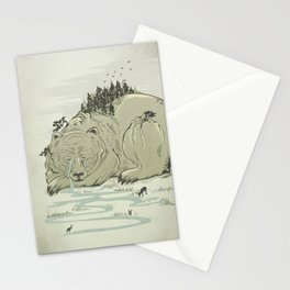 Hibernature Stationery Cards