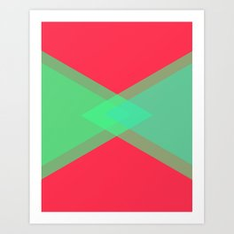 EADES Art Print