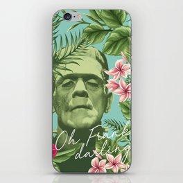 Oh Frankie darling - The Franktiki iPhone Skin