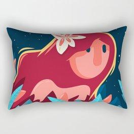 Woman of the night Rectangular Pillow