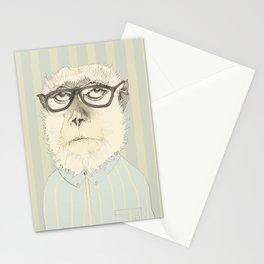 monkey gafapasta Stationery Cards
