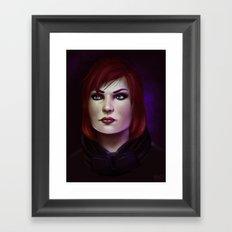 Mass Effect: Commander Shepard Framed Art Print