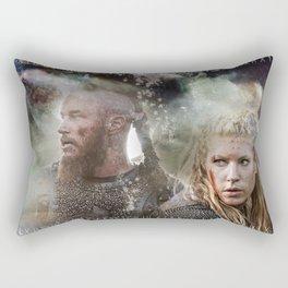 Battle Torn Rectangular Pillow