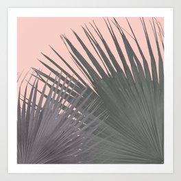 TWO PALM LEAVES Art Print