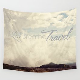Live Breathe Travel - Mt Etna, Italy Wall Tapestry
