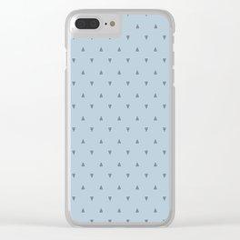 Create Glyph Blue Clear iPhone Case