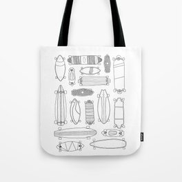 Longboards (2) Tote Bag