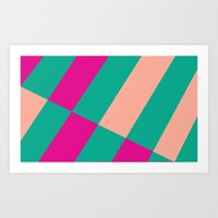 Candy Shop Pattern Art Print