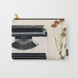 The Nostalgic Typewriter (Retro and Vintage Still Life Photography) Carry-All Pouch