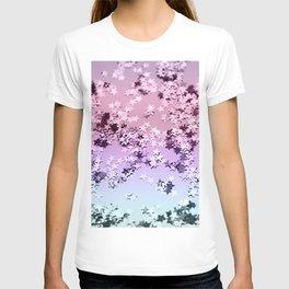 Unicorn Girls Glitter Stars #1 #shiny #pastel #decor #art #society6 T-shirt