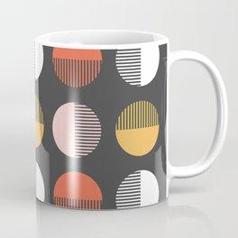 70s Moon Pattern Coffee Mug