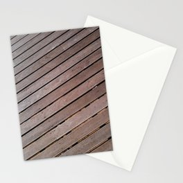 Wood Pattern Stationery Cards