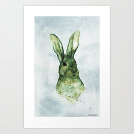 Woodland Animals Collection | Hare Art Print