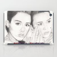 miley iPad Cases featuring miley vs. miley by als3