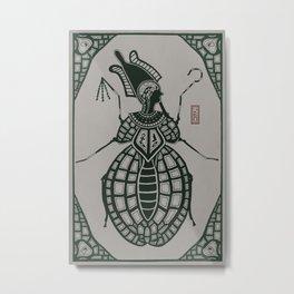 Kafkian Amulet VI: Osiris Metal Print