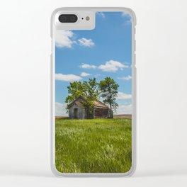 Cromwell Township School, North Dakota 6 Clear iPhone Case