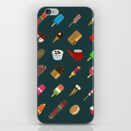 80s Italian ICE CREAM random iPhone Skin