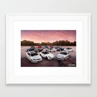 cars Framed Art Prints featuring Cars by 1013MM