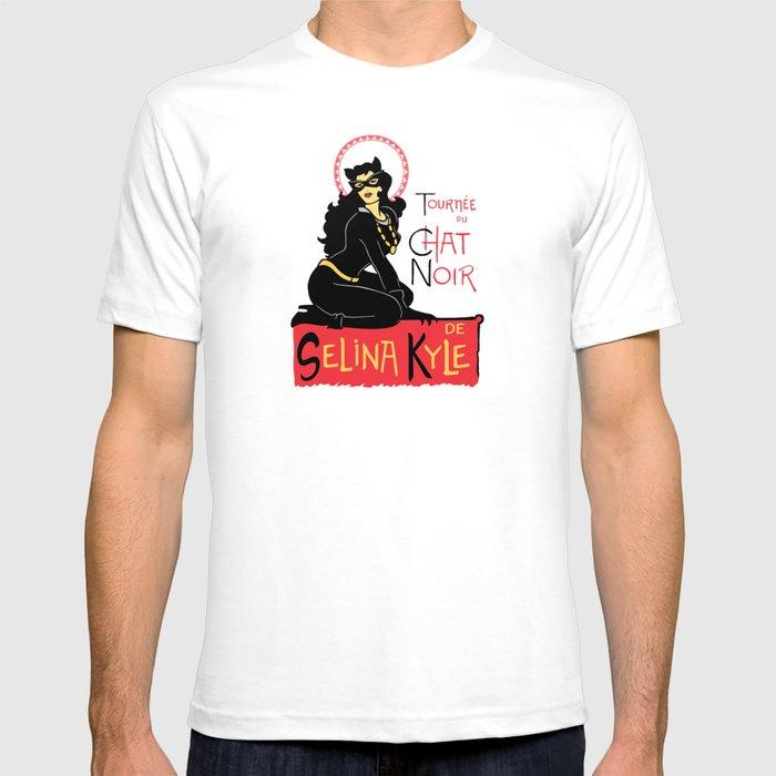 Black Cat Selina T-shirt