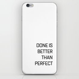 Quote of the day N1 iPhone Skin