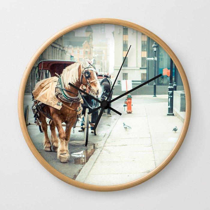 Montreal Taxi Wall Clock