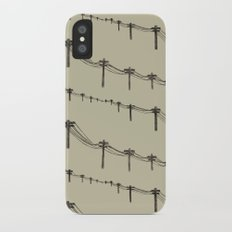 Metal Trees Slim Case iPhone X
