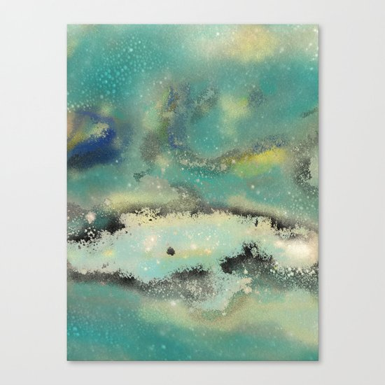 Postcards From Pluto 2 Canvas Print