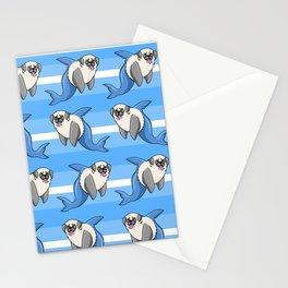 Sharky Pug Stationery Cards