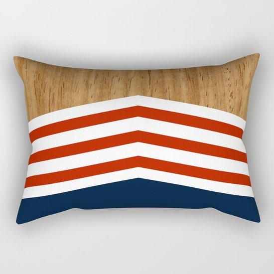 Vintage Rower Ver. 3 Rectangular Pillow