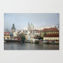 Skyline, Prague. Canvas Print