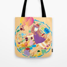 Ambrosia with balloon Tote Bag
