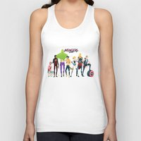 band Tank Tops featuring Band by Andres Moncayo
