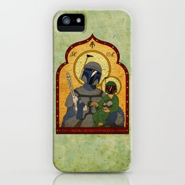 Patron Saint of Bounty Hunters... iPhone Case