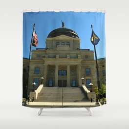 Montana State Capitol Shower Curtain
