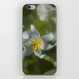 Avalanche Lily Painterly iPhone Skin