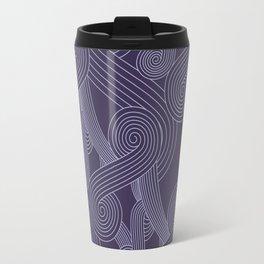 Quarian Swirls Travel Mug