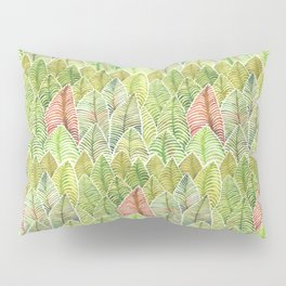 Forest of Leaves by Michelle Scott of dotsofpaint studios Pillow Sham