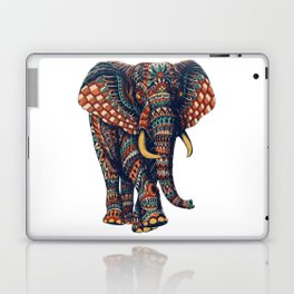 Ornate Elephant v2 (Color Version) Laptop & iPad Skin