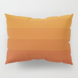 Gradient, Yellow Red Pillow Sham