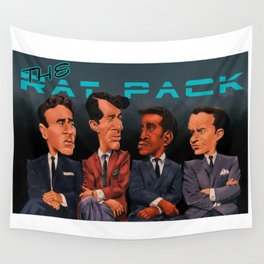 The Rat Pack Wall Tapestry