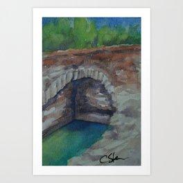 Alcazaba Cistern WC151209k-14 Art Print
