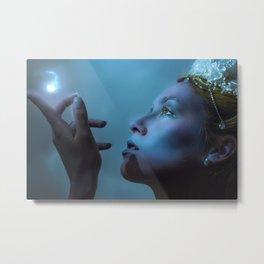 Ice Queen lighting Metal Print