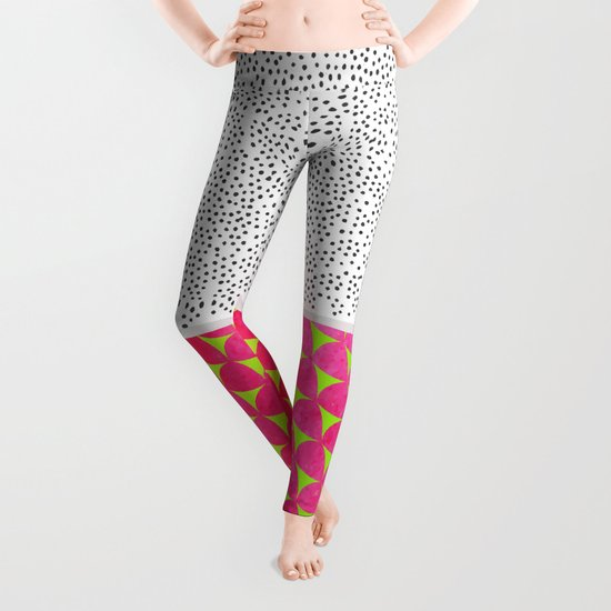 Dragon Fruit Deconstructed Leggings
