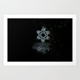 A Ripple of Christmas Cheer Art Print