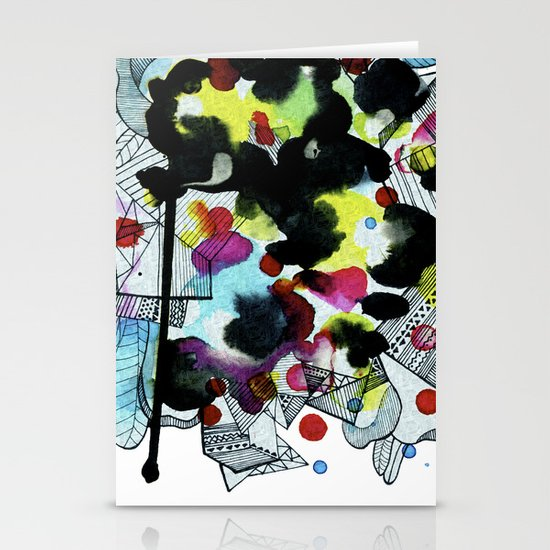 Hanging worlds  Stationery Cards