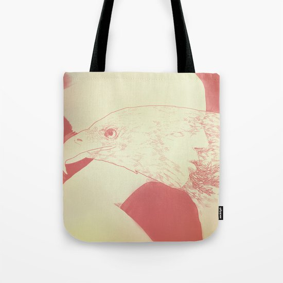 """""""Once I Was an Eagle"""" by Justin Hopkins Tote Bag"""